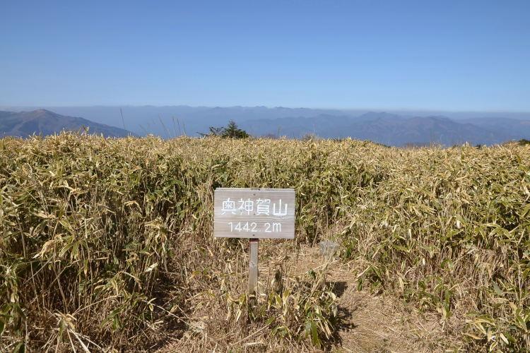 かの山 | 高坂山 ~ 奥神賀山