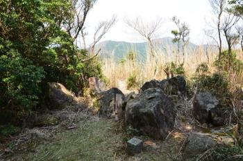 譲ヶ葉森山頂