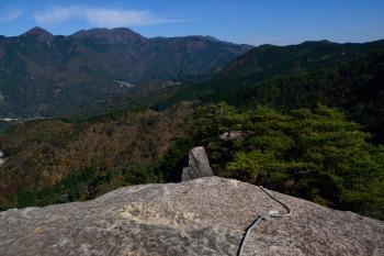 カランコロン岩の眺めです。その1