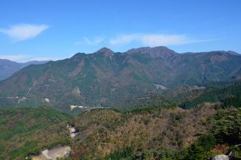カランコロン岩の眺めです。その2