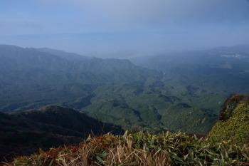 大篦柄岳の眺望
