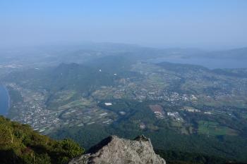 開聞岳の眺め