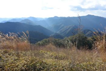大塔山の眺めです。その1