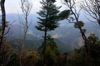 矢筈岳の眺めです。その2