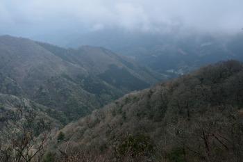 展望岩からの眺め
