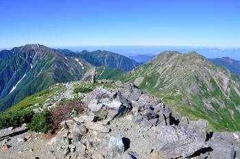 悪沢岳(東岳)の眺めです。その2