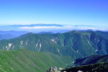悪沢岳(東岳)の眺めです。その3