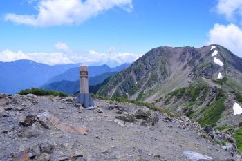 小赤石岳(標高3081m)