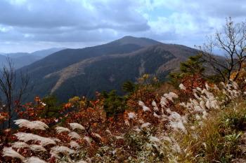 掛頭山から見た臥龍山