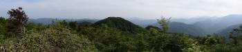 口三方岳のパノラマです。その2