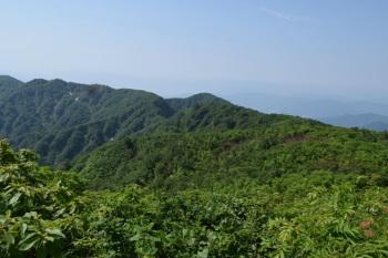 大日山の眺めです。その1