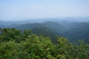 小大日山の眺め