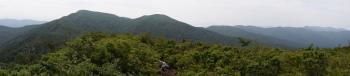 小大日山のパノラマです。その1