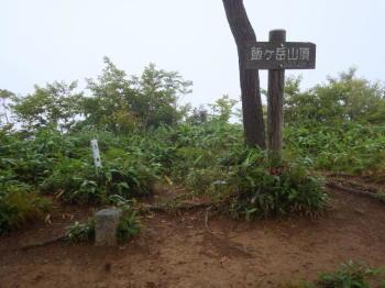 飯ヶ岳の山頂(標高937.1m)