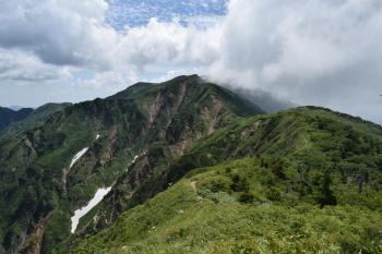 油坂ノ頭(標高2256m)