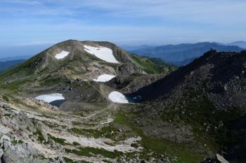 白山の眺めです。その2