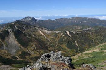 赤岳の眺めです。その1