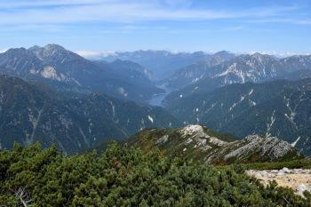 赤牛岳の眺め