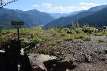 天守台(標高452m)