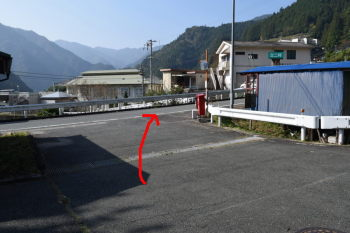 富山支所駐車場