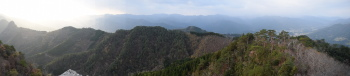 天狗岩からのパノラマ