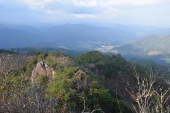 山頂の眺めです。その1