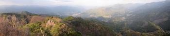 山頂のパノラマです。その1