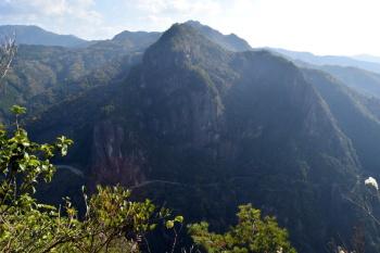 矢筈岳の眺め