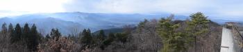 展望台からのパノラマです。その1