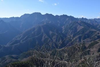 東峰の眺めです。その2