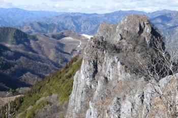 西峰の眺め