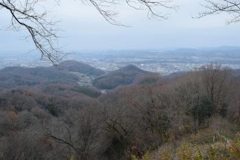 鐘撞堂山の眺め