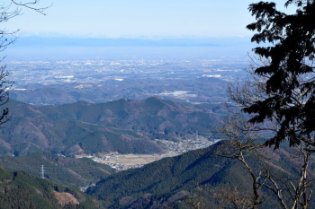 東峰からの眺め