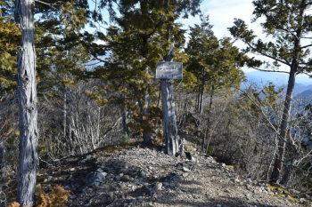 大山の山頂(標高1540m)