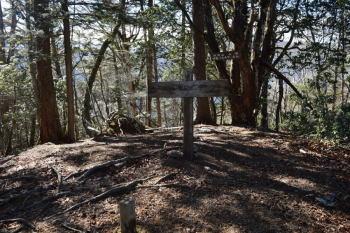 諏訪山の山頂(標高1549.6m)