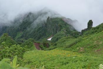 利尻山の眺めです。その3