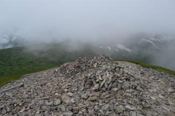 天塩岳の眺めです。その1