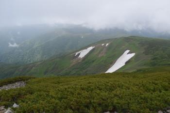 天塩岳の眺めです。その2