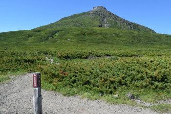 羅臼平から見る羅臼岳