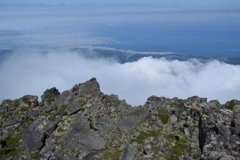 羅臼岳の眺めです。その1
