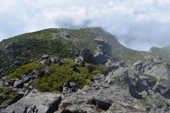 羅臼岳の眺めです。その2