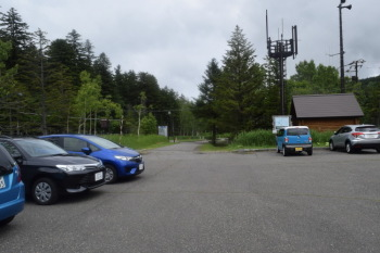 登山者用駐車場