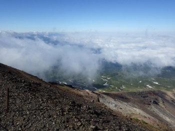 旭岳の眺めです。その2