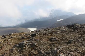 十勝岳の肩の眺めです。その2
