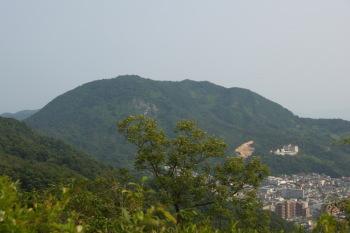 吉松山から白岳山