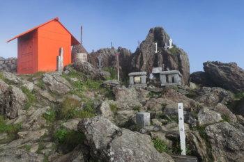 早池峰の山頂(標高1917m)
