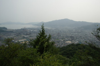 岩場からの眺め