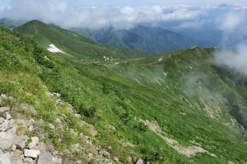 大朝日岳の眺め