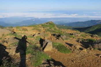 熊野岳の眺めです。その1
