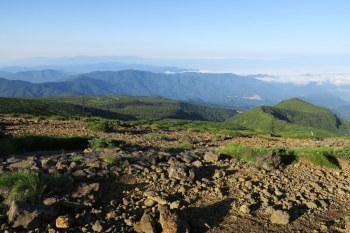 熊野岳の眺めです。その3